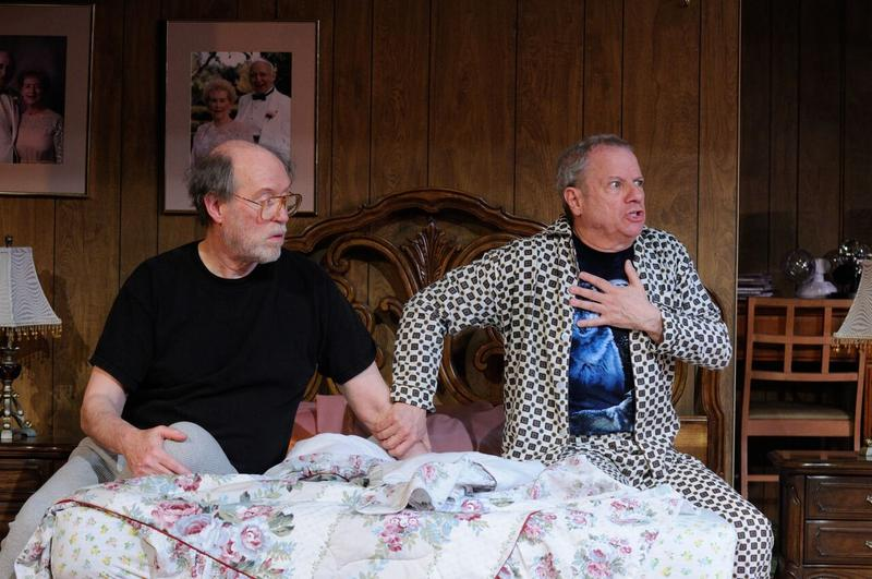 "Timothy Crowe as Louis and Stephen Berenson as Bob in ""Arnie Louis and Bob"" At Trinity Rep."