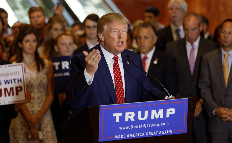 Republican presidential front runner Donald Trump won RI's Presidential Primary last month.