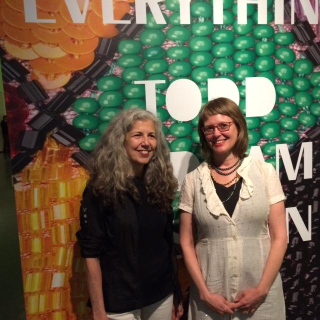 RISD Assistant Professor Mary Anne Friel, Curator Kate Irvin