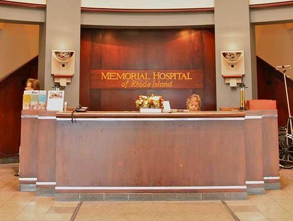 Memorial Hospital lobby