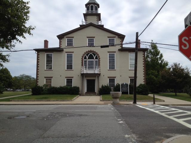The Bristol Statehouse. Built in 1816, it was once used for meetings of House of Representatives.