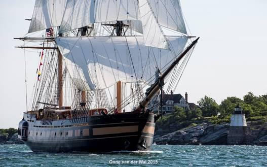 Tall Ship the SSV Oliver Hazard Perry
