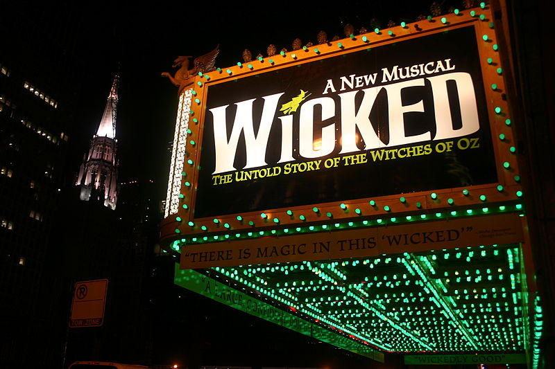 'Wicked' marquee