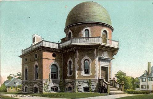 Postcard of Ladd Observatory