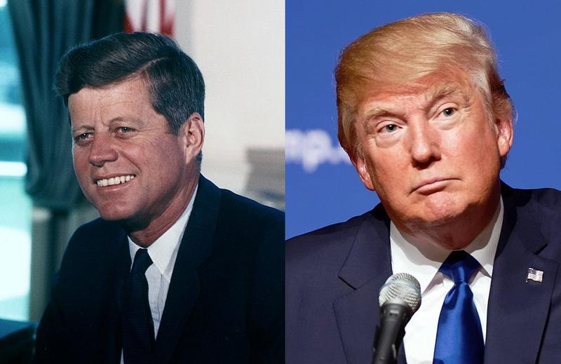 John F. Kennedy, Donald Trump
