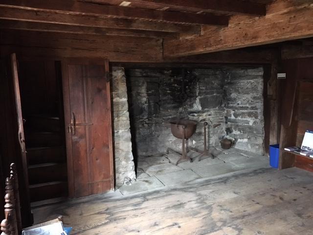 1st floor great room fireplace