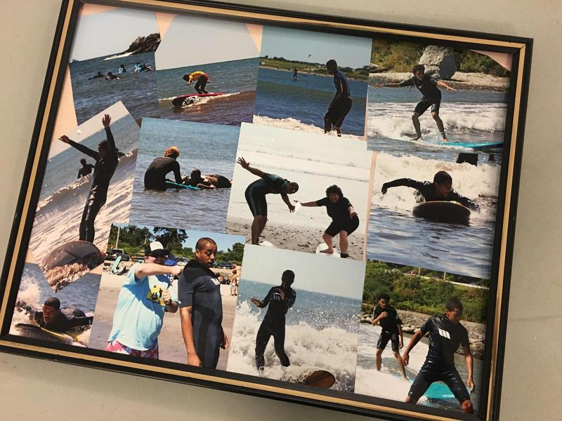 Photos from Sal Monteiro and Sheila Capece's surfing trip with the teens they mentor.