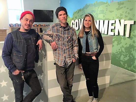 Tom West, Scott Moran, and Jessica Cabral