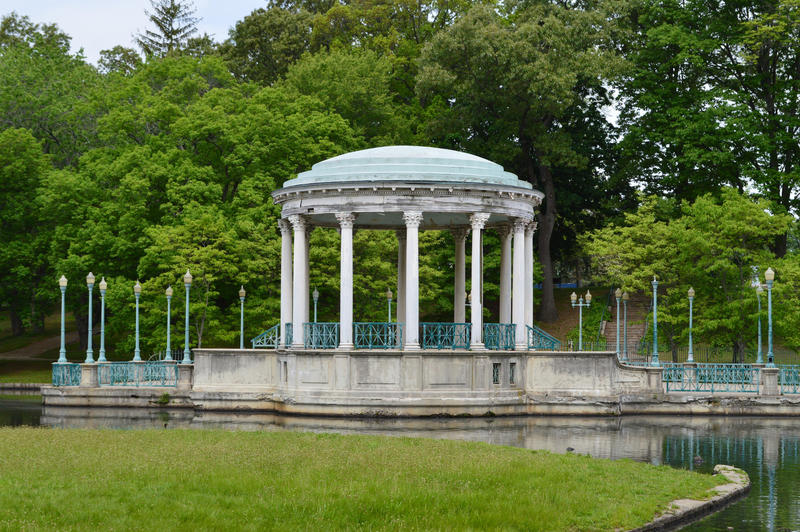 Roger WIlliams Park gazebo