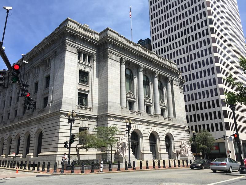 U.S. District Court in downtown Providence