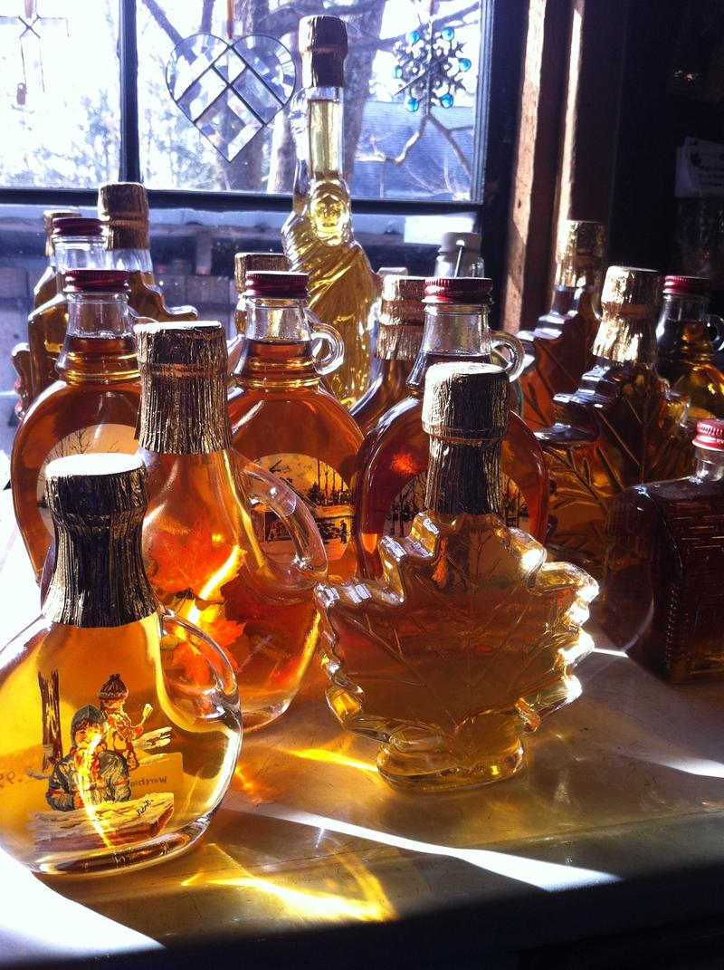 Maple Syrup from another farm in Worthington, Massachusetts.