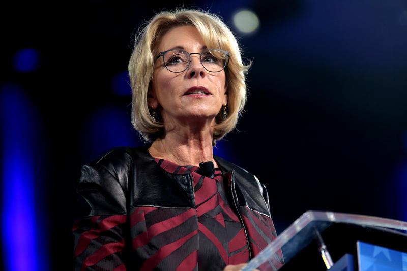 U.S. Secretary of Education Betsy DeVos