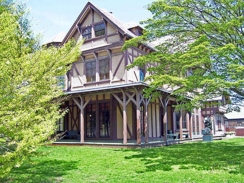 The historic  John N. A. Griswold House, home of the Newport Art Museum