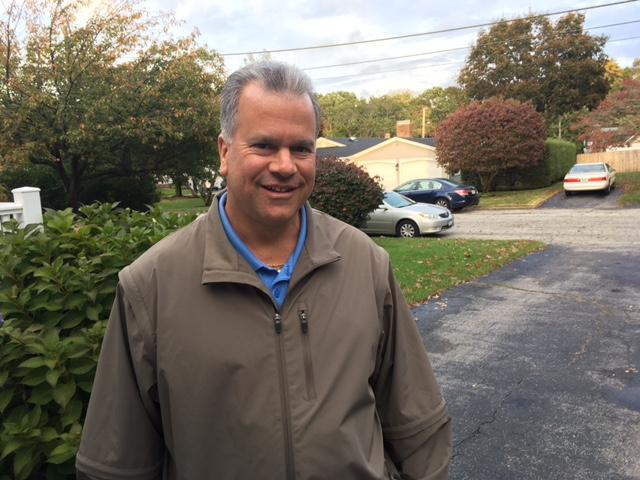 Mattiello on the campaign trail in 2016.