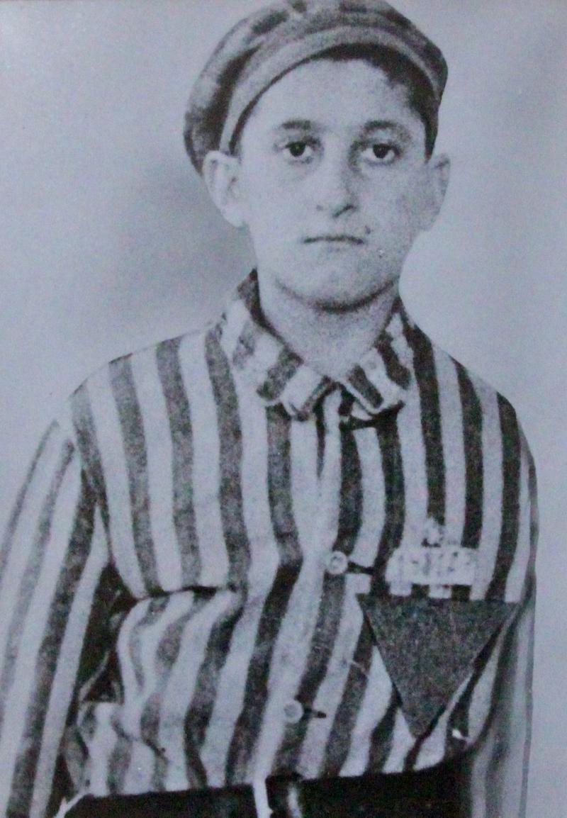 Steve Ross as teenager.