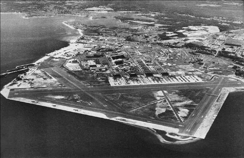 Established during WWII, the Quonset Point Naval Air Station in Rhode Island served as a major hub during the war.