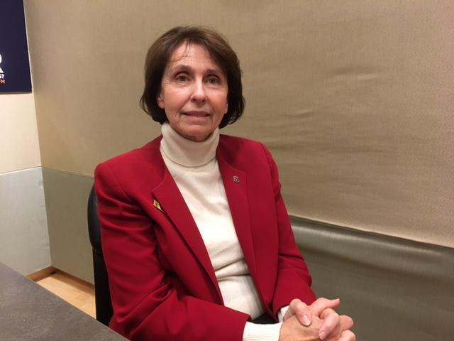 Rhode Island's Republican House Minority Leader Patricia Morgan