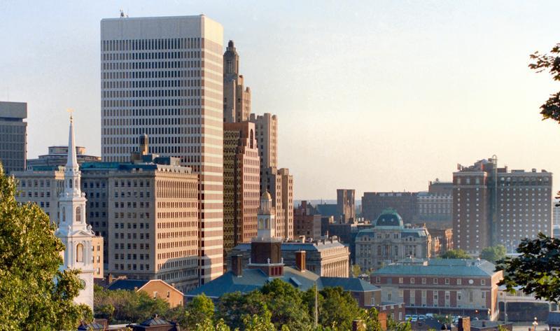 Downtown Providence Skyline