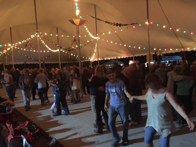 Cajun dance tent