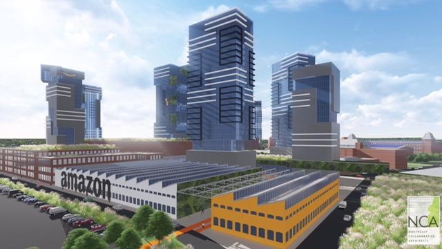 Proposed Amazon HQ2
