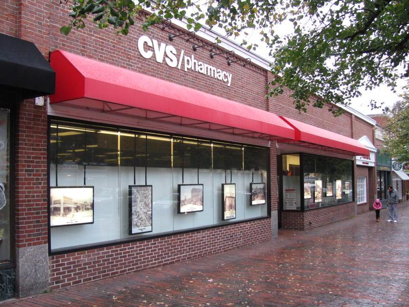 A CVS retail pharmacy in Lexington, MA.