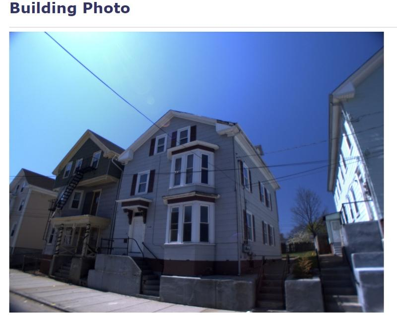 A photo on the city Tax Assessor's website shows the house at 110 Bowdoin St. before it was destroyed in a fire.