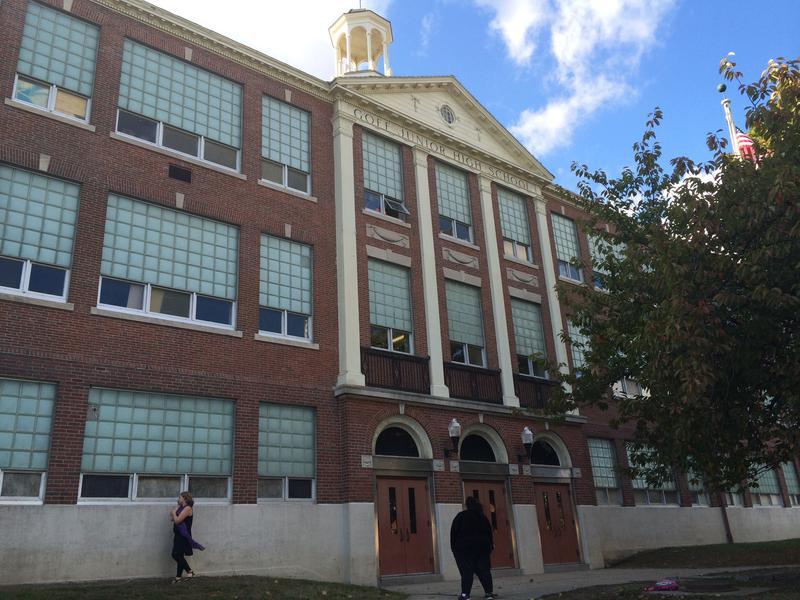 Goff Middle School in Pawtucket.