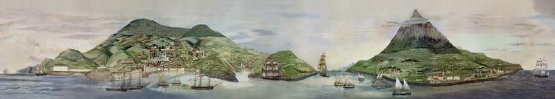 The Azores, from Grand Panorama of a Whaling Voyage Round the World