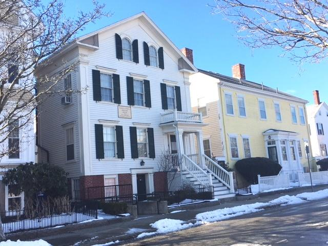 The Nathan and Polly Johnson House, 7th St. New Bedford In 'Abolitionist Row'