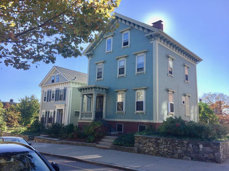 The Leonard M. Blodgett House and the Edward J. Cushing House