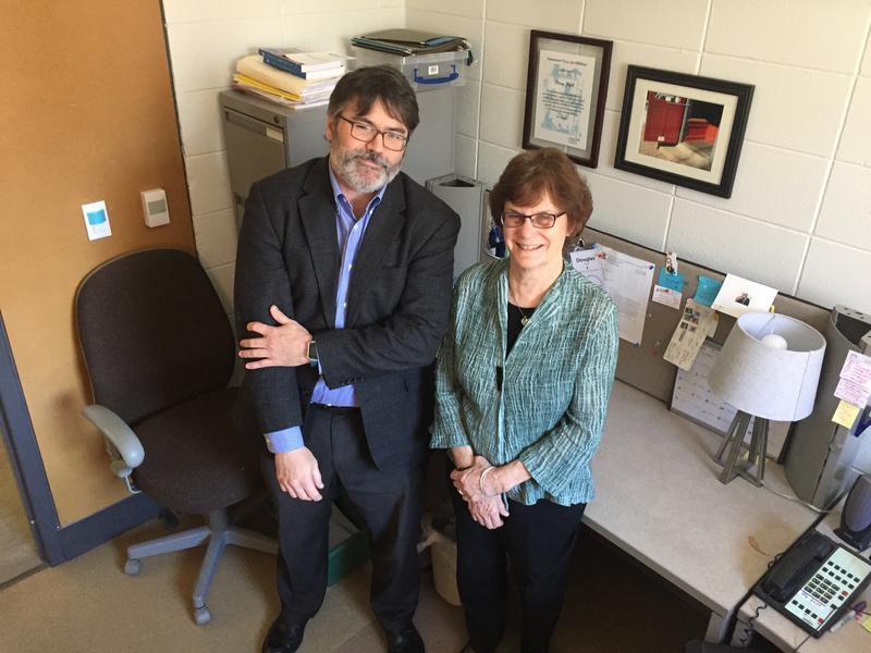 Doug Hall and Linda Katz from the nonprofit Economic Progress Institute.