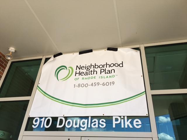 Neighborhood Health Plan of Rhode Island sign