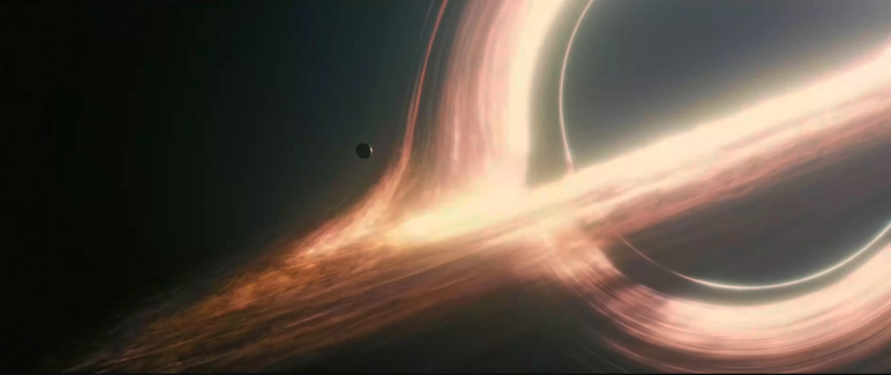 "The supermassive black hole Gargantua plays a major role in Christopher Nolan's 2014  ""Interstellar."""
