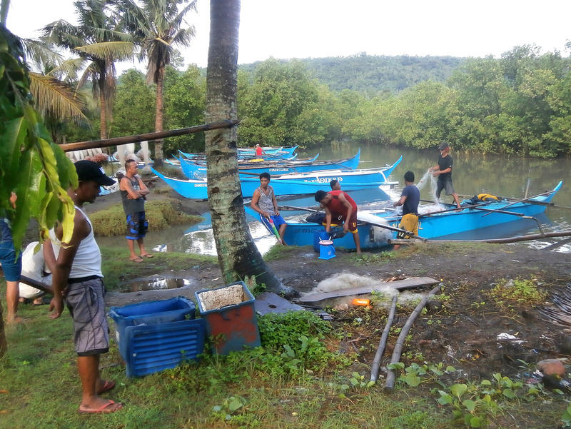 Small-scale commercial fishermen in the Philippines.