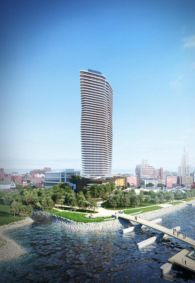 Rendering of the proposed Hope Point Tower