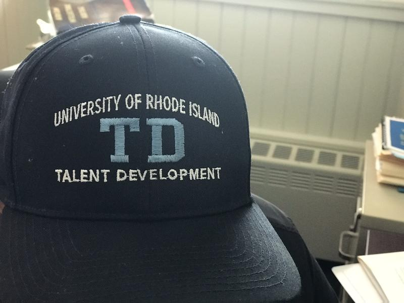 Talent Development Hat, University of Rhode Island