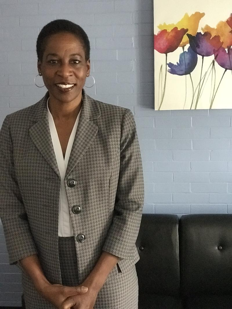 Naomi Thompson, Associate Vice President and Chief Diversity Officer for the University of Rhode Island's Office of Community, Equity and Diversity