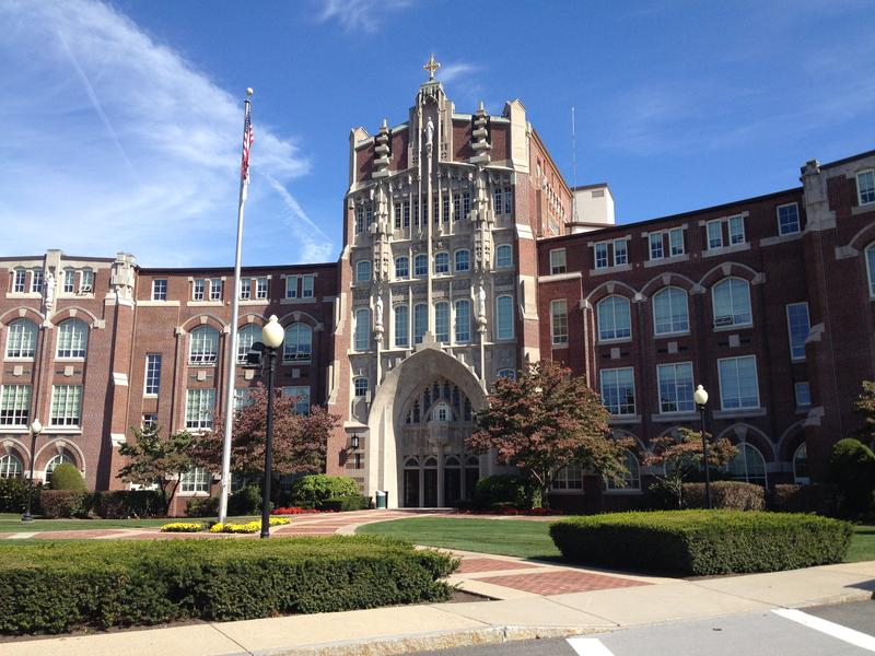 Providence College's campus in the Elmhurst neighborhood.