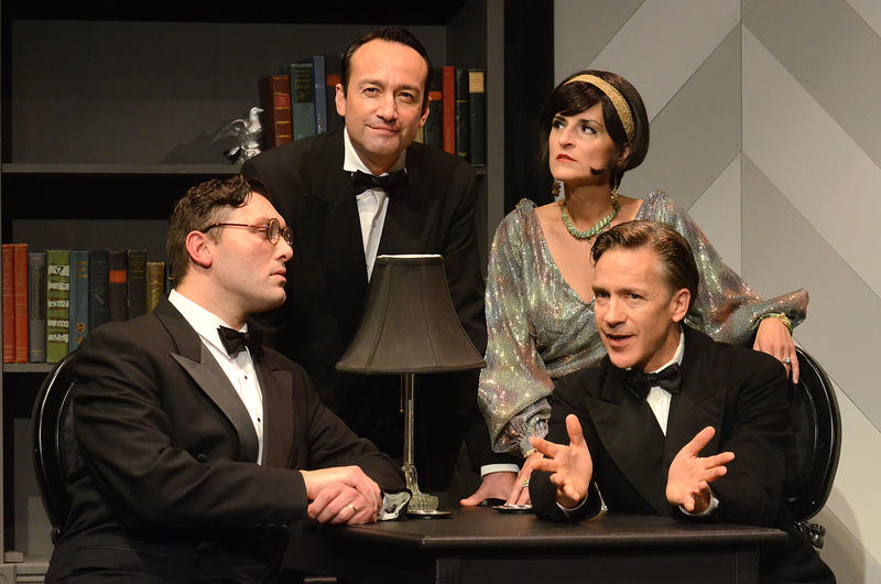 Still from 2nd Story Theatre's staging of 'Dangerous Corner'