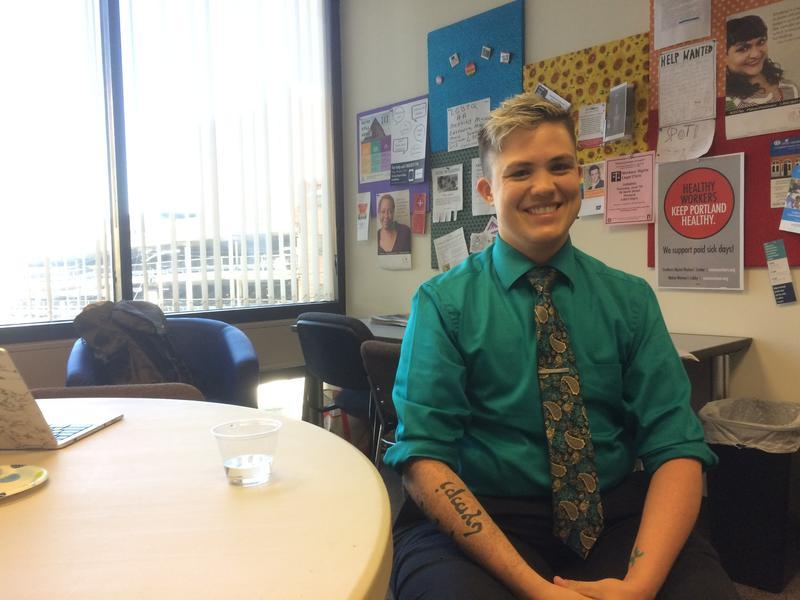 Ian-Meredythe Dehne Lindsey, who's request for non-binary gender marker prompted the BMV's change in policy.