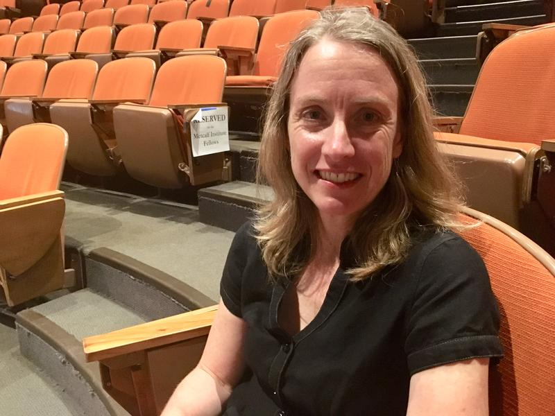 Amy Snover, director of the University of Washington's Climate Impacts Group, gave a talk during an environment lecture series at the Univerity of Rhode Island on June 14.