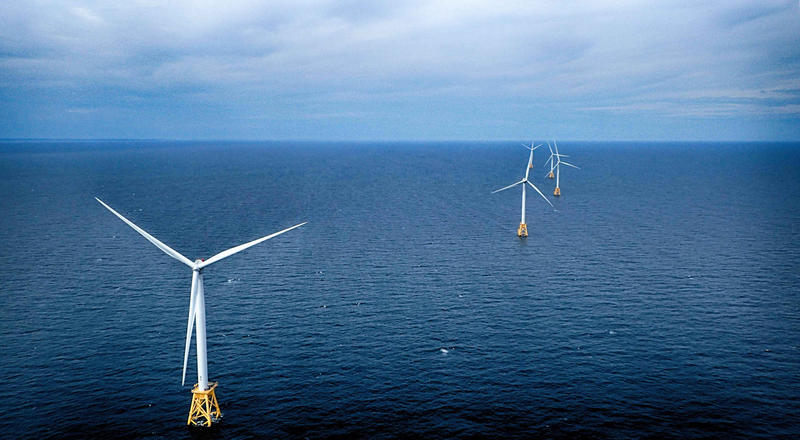 The Block Island Wind Farm in Rhode Island is the first wind farm in the nation. A Massachusetts environmental group says the state has great potential to join in on the offshore wind energy industry.