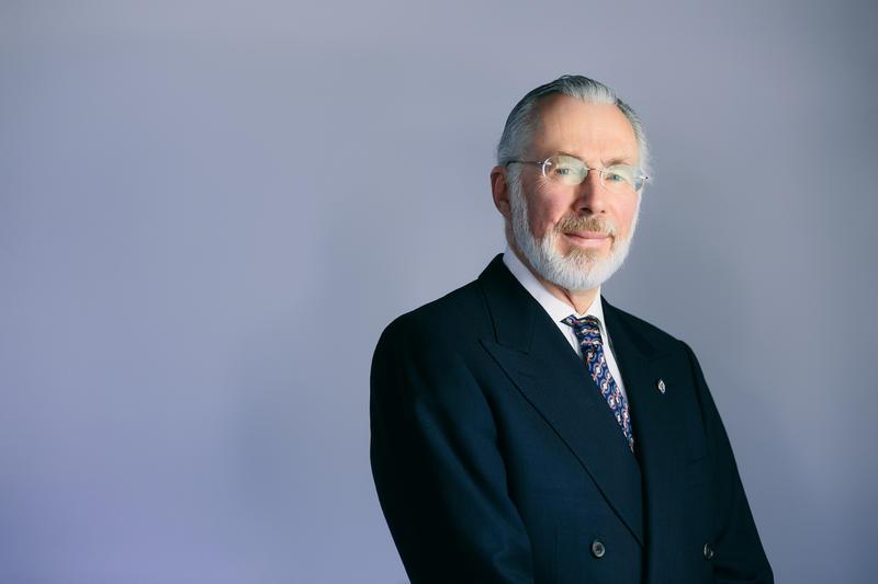 Donald J. Farish, Roger Williams University's 10th President.