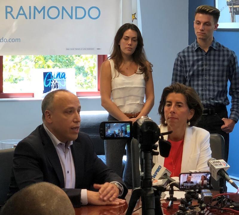 Rhode Island Governor Gina Raimondo at Deepwater Wind