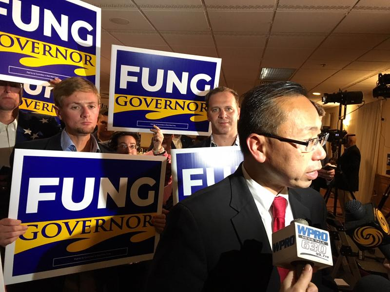 Republican Cranston Mayor Allan Fung will get a second chance to beat Democrat Gina Raimondo in the 2018 race for governor in Rhode Island.