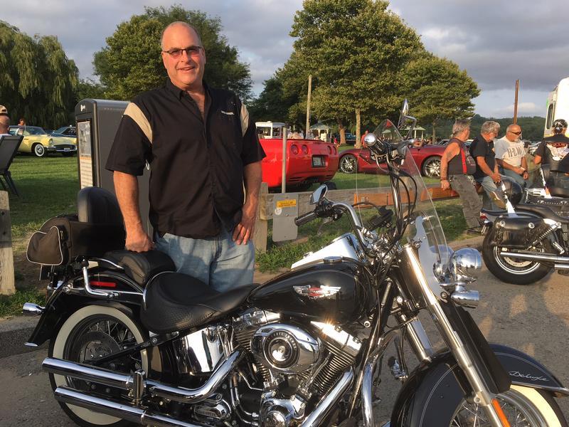 "Harley rider Robert ""Bob"" MIller, is a businessman and self-described Libertarian."