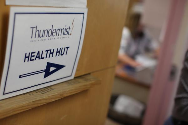 The Health Hut is located at the John F. Deering Middle School. Photo by Alex Nunes