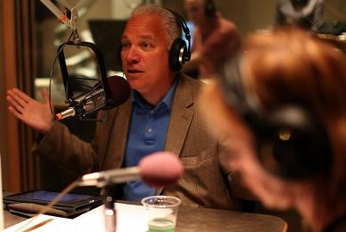 Pablo Rodriguez, of Latino Public Radio, is the special guest on this week's Political Roundtable. Photo by Alex Nunes.