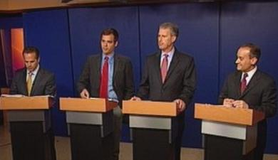 The Democratic candidates in the 1st Congressional District race are pictured here. Photo courtesy of ABC6.