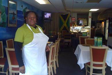 Tina Rowe of Tina's restaurant in Providence is pictured here. Photo by Elisabeth Harrison.